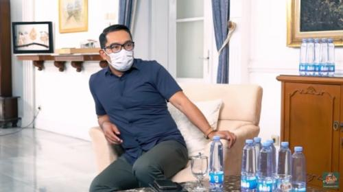 Gubernur Jawa Barat Ridwan Kamil. (Foto: YouTube Curhat Bang Denny Sumargo)