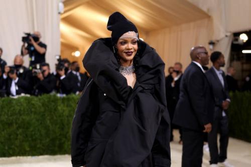 Rihanna Met Gala 2021