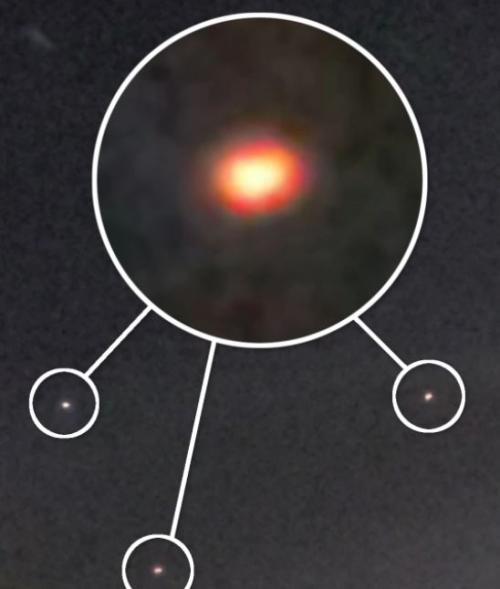 Cahaya Misterius Diduga UFO