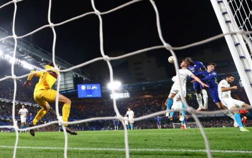 Laga Chelsea vs Zenit di Liga Champions. Foto: Reuters