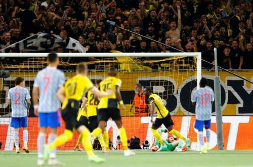 Laga Young Boys vs Manchester United. Foto: Reuters