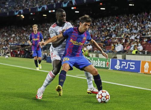 Laga Barcelona vs Bayern Munich. Foto: Reuters