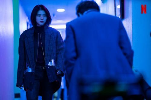 Transformasi Han So Hee dalam drama My Name. (Foto: Netflix)