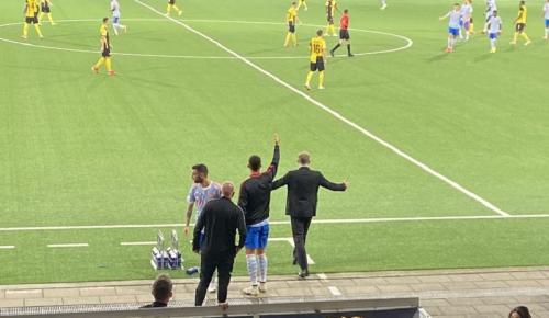Cristiano Ronaldo dan Ole Gunnar Solskjaer (Foto: Twitter/@kawowosports)