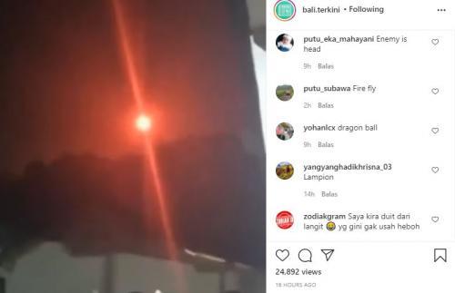 Bola Api Viral Diduga Santet