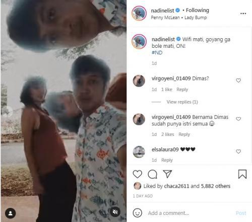 Nadine Chandrawinata Baby Bump