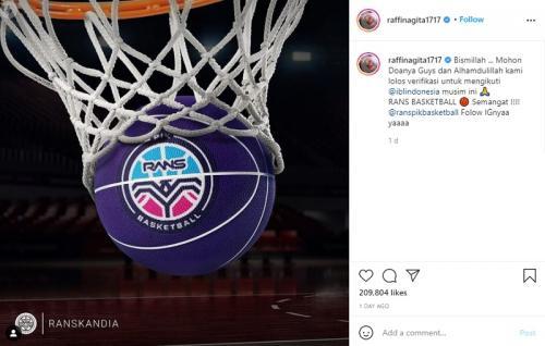 Klub Basket Raffi Ahmad