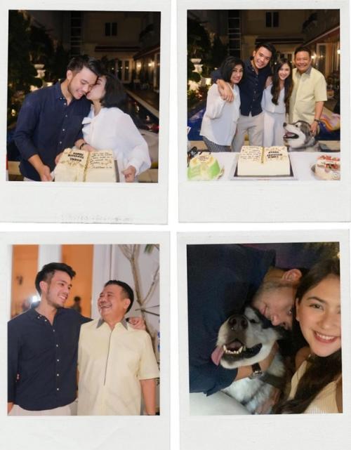 Jessica Mila rayakan ulang tahun pacar bersama keluarga. (Foto: Instagram/@jscmila)