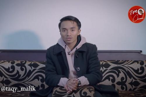 Taqy Malik minta maaf setelah sang ayah dituding mengalami penyimpangan seksual. (Foto: YouTube/Taqy Malik)