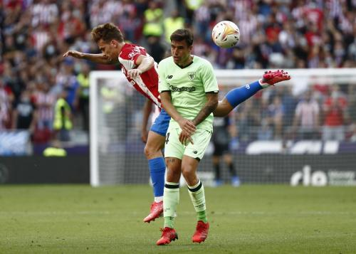 Atletico Madrid vs Athletic Bilbao (Foto: Reuters)