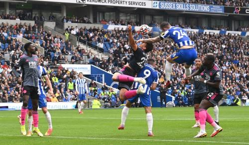 Brighton & Hove Albion vs Leicester City (Foto: Reuters)