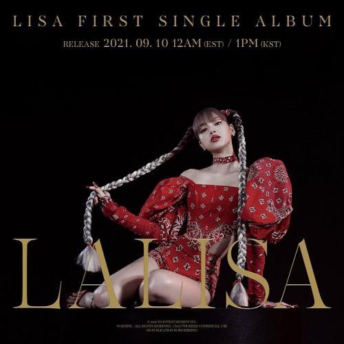 Lisa BLACKPINK rilis single LALISA. (Foto: YG Entertainment)