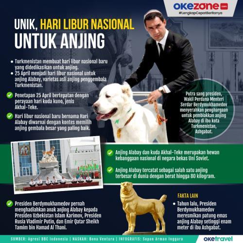 Infografis Anjing