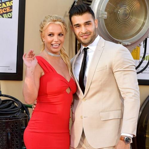 Britney Spears dan Sam Asghari