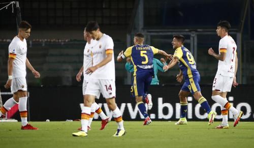 Hellas Verona vs AS Roma (Foto: Reuters)