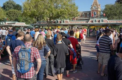 Pengunjung Disney World