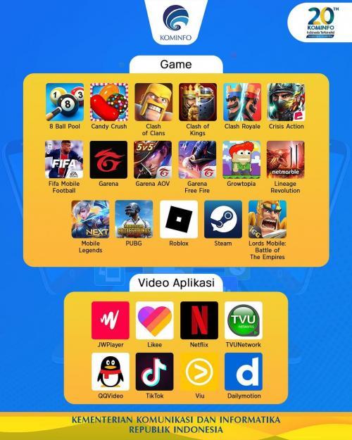 aplikasi game