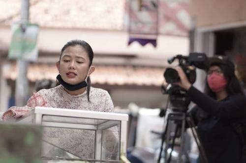 Hami Diah dalam sinetron Tukang Ojek Pengkolan. (Foto: Instagram/@hami_diah)