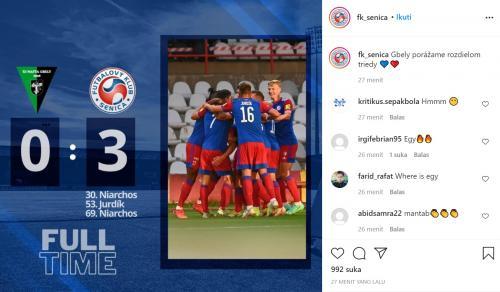 Egy Maulana Vikri bantu FK Senica menang