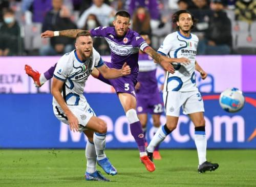 Fiorentina vs Inter Milan (Foto: Reuters)