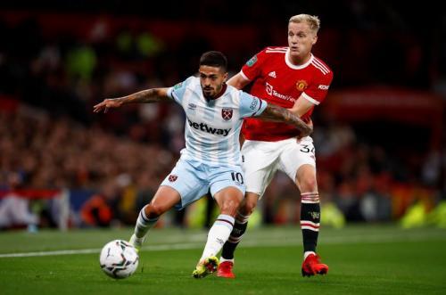 Man United vs West Ham United (Foto: Reuters)