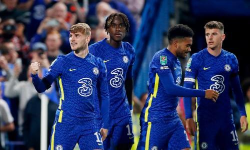 Para pemain Chelsea. Foto: Reuters