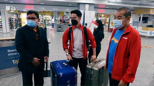 Tim Bulu Tangkis Indonesia di Piala Sudirman 2021