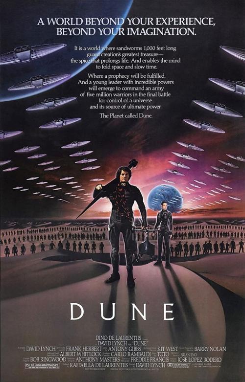 Dune garapan sutradara David Lynch yang dirilis pada 1984.