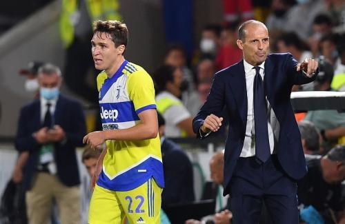 Laga Spezia vs Juventus di Liga Italia. Foto: Reuters