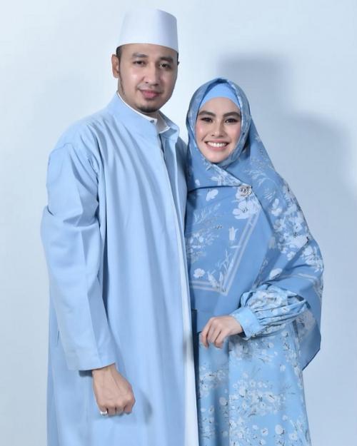 Kartika Putri dan Habib Usman. (Foto: Instagram/@kartikaputriworld)