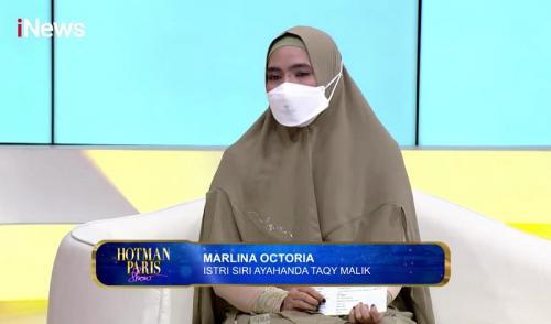 Marlina Octoria. (Foto: Hotman Paris Show iNews)