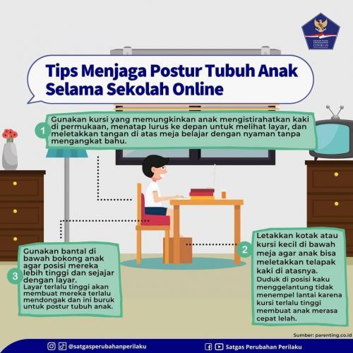 Tips Jaga Postur Tubuh Anak