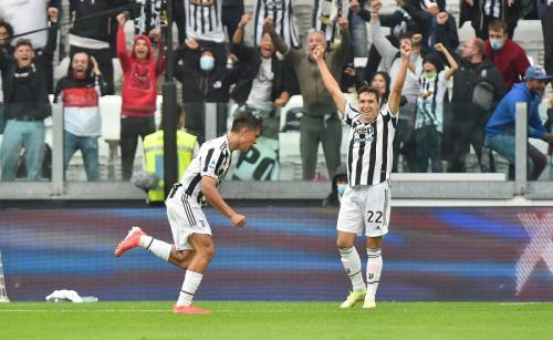 Laga Juventus vs Sampdoria di Liga Italia 2021-2022. Foto: Reuters