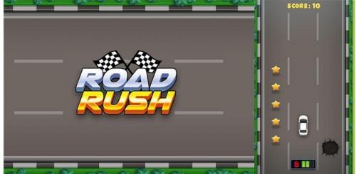 Game Road Rush. (Foto: RCTI Plus)