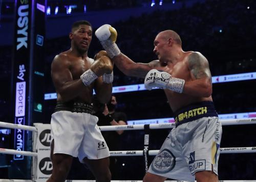 Anthony Joshua vs Oleksandr Usyk (Foto: Reuters)