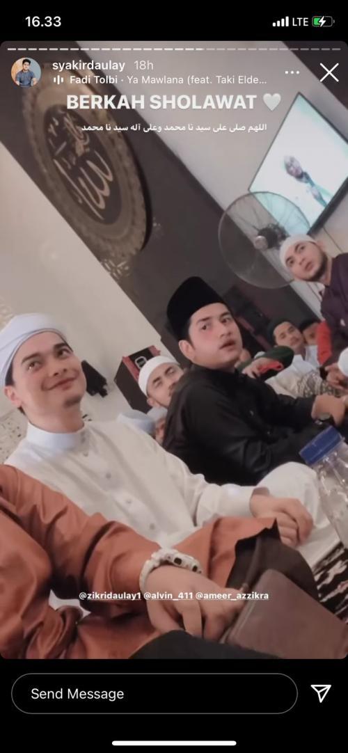 Alvin Faiz dan Zikri Daulay