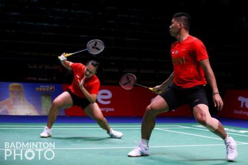 Praveen Jordan/Melati Daeva Oktavianti. Foto: Badminton Photo