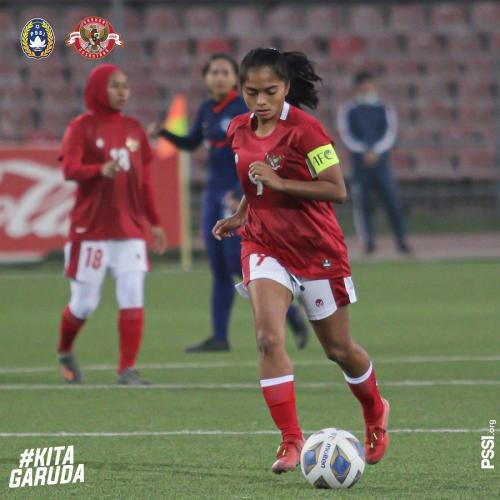 Timnas Putri Indonesia (Foto: Twitter/@PSSI)