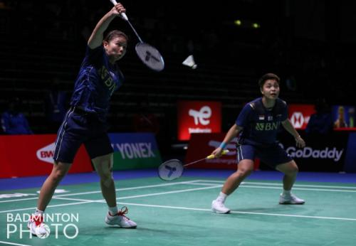Greysia Polii/Apriyani Rahayu (Badminton Photo)