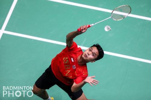 Anthony Sinisuka Ginting (Badminton Photo)