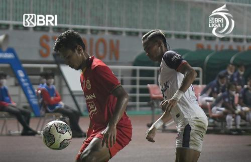Persija Jakarta vs Persita Tangerang (Foto: Twitter/@Liga1Match)