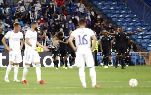 Sheriff Tiraspol mengalahkan Real Madrid (Foto: Reuters)