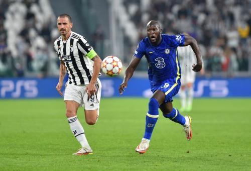 Laga Juventus vs Chelsea di Liga Champions 2021-2022. Foto: Reuters