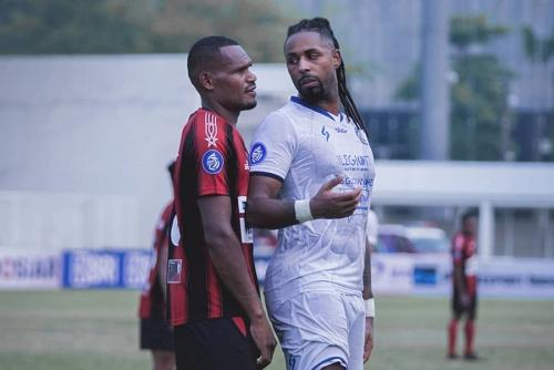Persipura Jayapura vs Arema FC (Foto: Twitter/@AremafcOfficial)