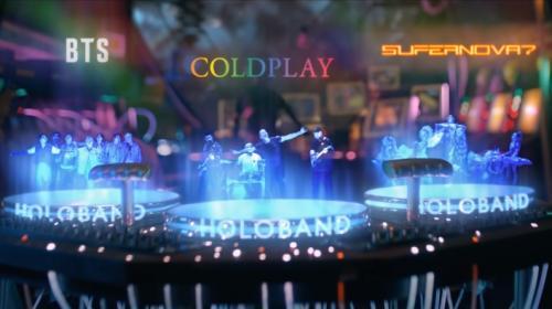 BTS x Coldplay kolaborasi dalam My Universe. (Foto: Instagram/@coldplay)