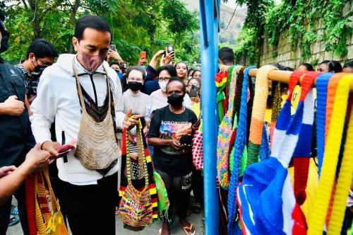 Jokowi Noken