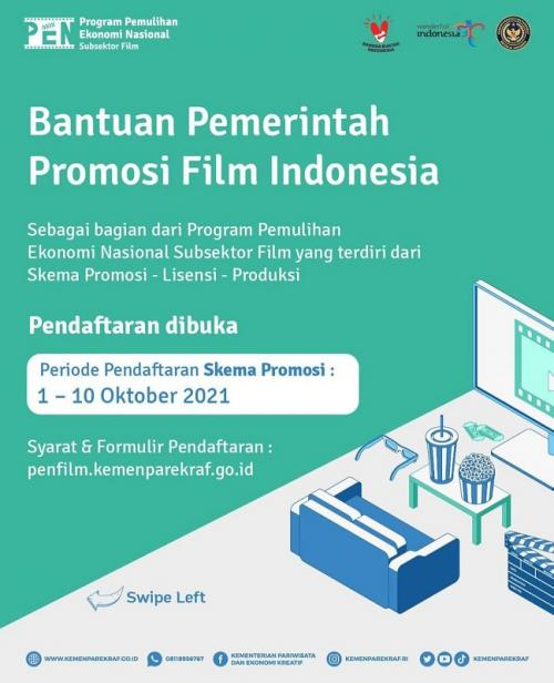 Program Bantuan Promosi Film Indonesia.