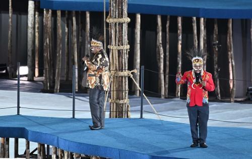 Upacara pembukaan PON XX Papua 2021 (Foto: PB PON XX Papua 2021)