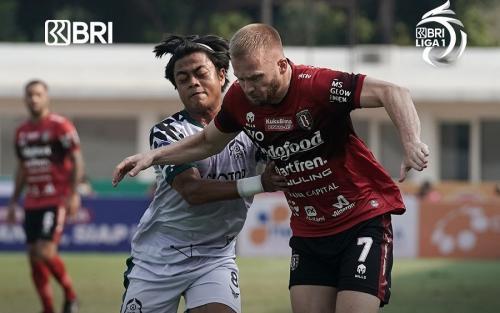 Bali United vs Persikabo 1973 (Foto: Twitter/@Liga1Match)