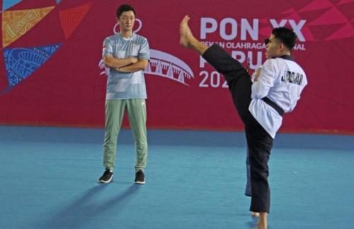 atlet Taekwondo Jawa Barat. (Foto: PB PON XX Papua)
